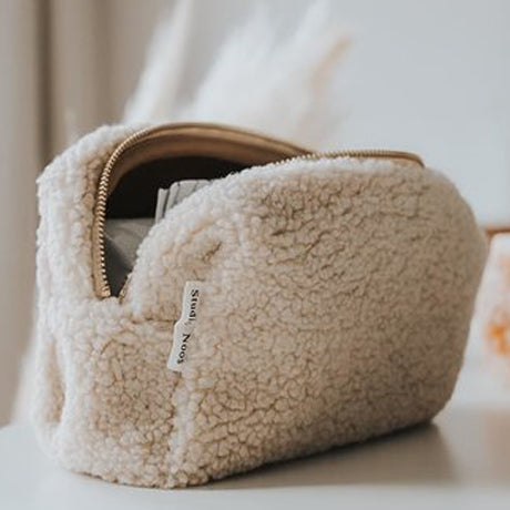 Studio Noos Nappy, Wipes & Essentials Mama Pouch (Beige Teddy)
