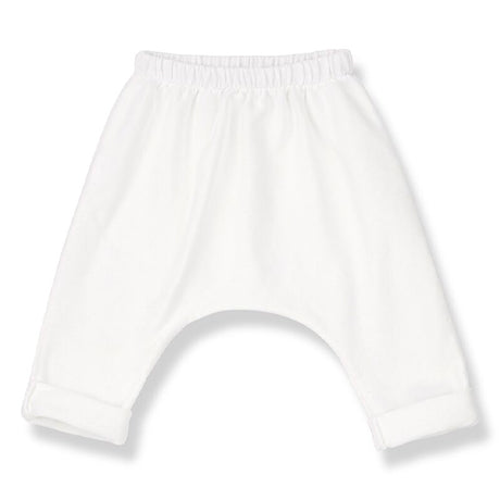 Matera Drop Crotch Trousers (Off White)