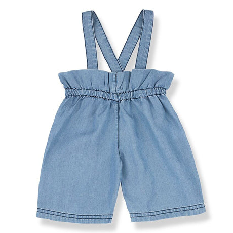 Inca Tencel Frill Dungaree Trousers