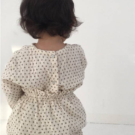 Anfant Top and Bloomer Set (Dot)