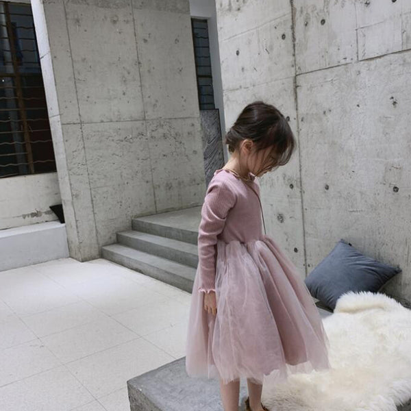 Suki Minimalist Tutu Dress (Pink)