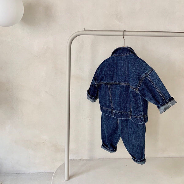 Jojo Modern Denim Jacket (Blue Denim)