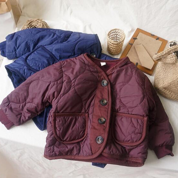 Nara Padded Jacket (Berry)