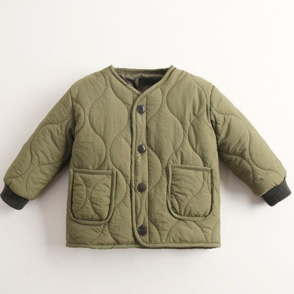 Japan Spring Padded Jacket (khaki)