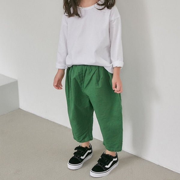 Romy Unisex Trousers (Green)