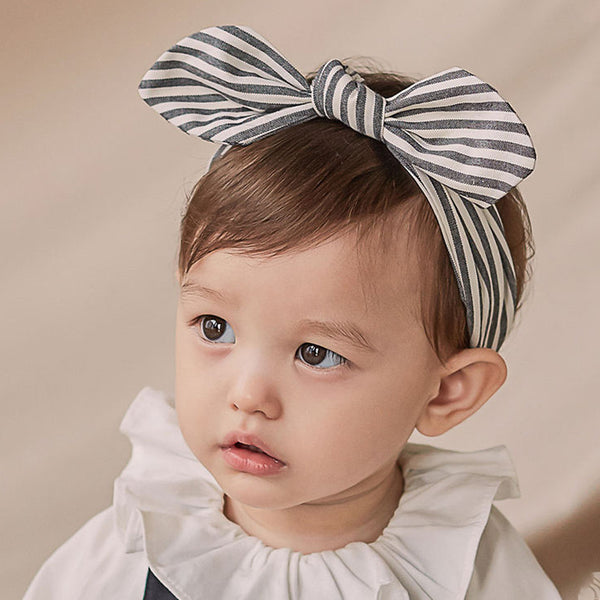 Kinder Wire Baby Knot Headband (Stripe)