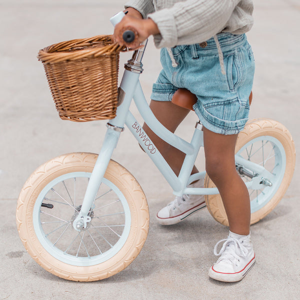 First GO! Banwood Balance Bike (Pale Blue)