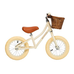First GO! Banwood Balance Bike (Cream)