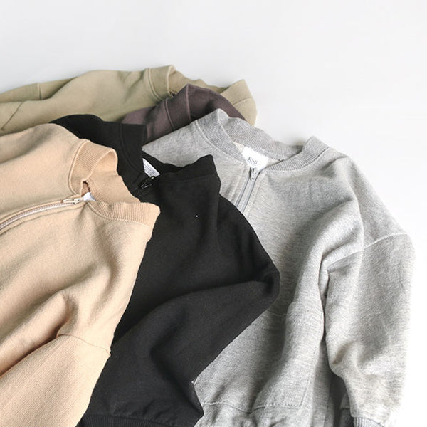 Noah Daily Cardigan Bomber (Beige)