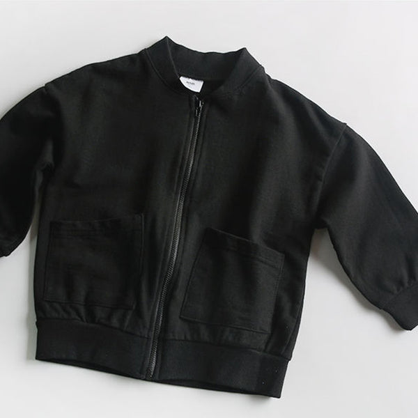 Noah Daily Cardigan Bomber (Black)