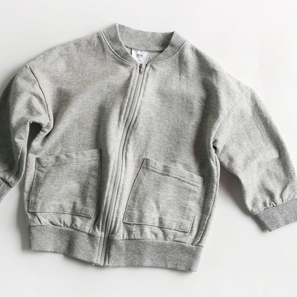 Noah Daily Cardigan Bomber (Grey)