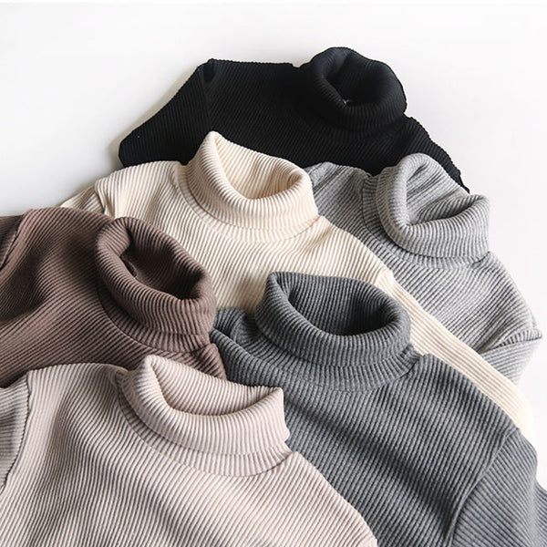 ribbed turtle neck neutral colours grey beige cream black charcoal
