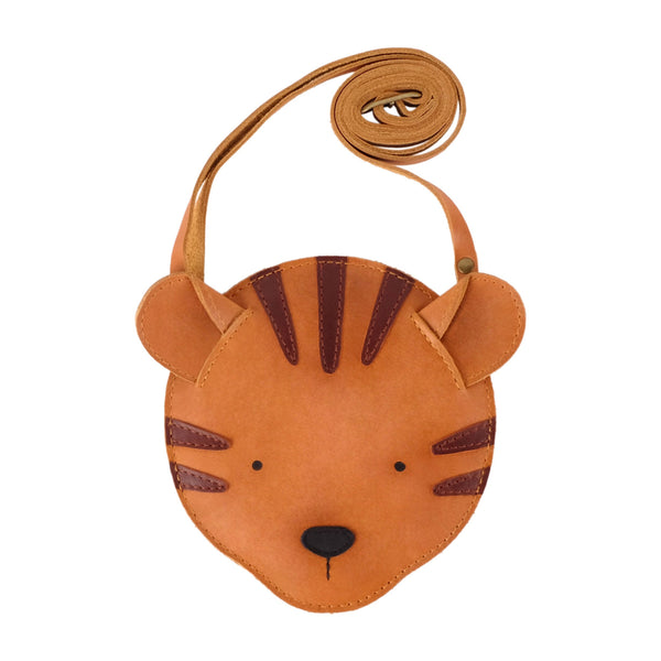 Britta Leather Tiger Bag Purse