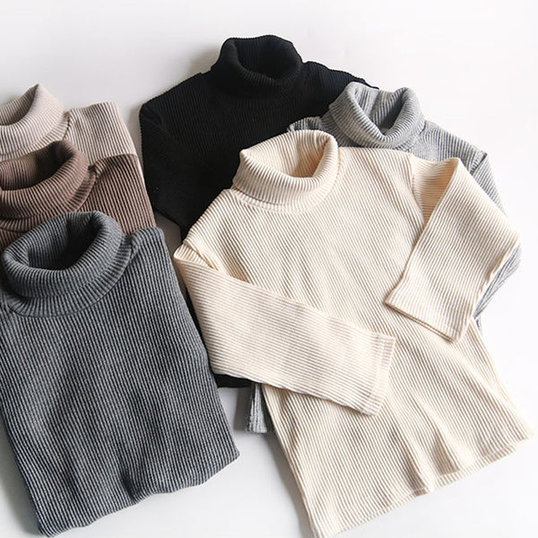 Roma Ribbed Turtleneck Basics (Cream)