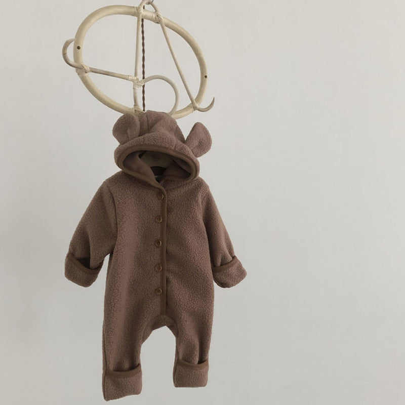 Puff Bear Button Down Outer Suit (Camel)