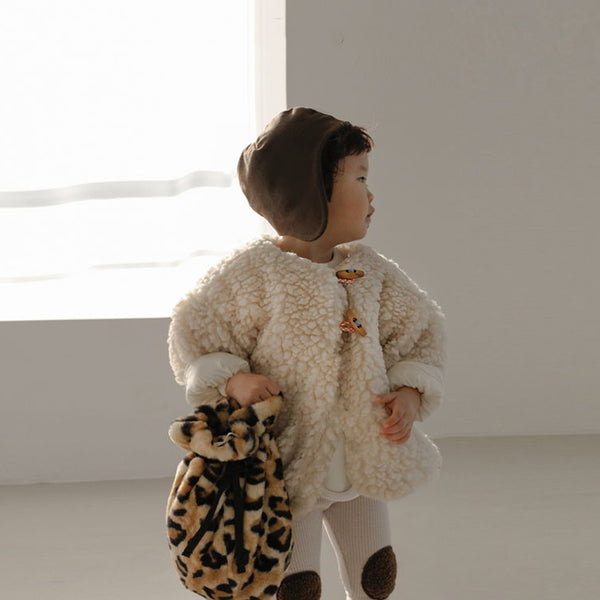 Ikii Cookie Dumble Warm Coat (Cream)