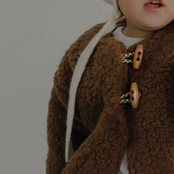 Ikii Cookie Dumble Warm Coat (Chocolate)