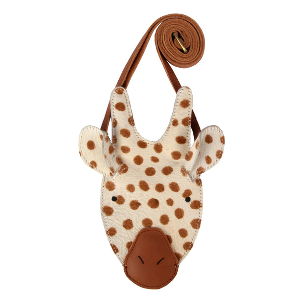 Britta Leather Giraffe Bag Purse
