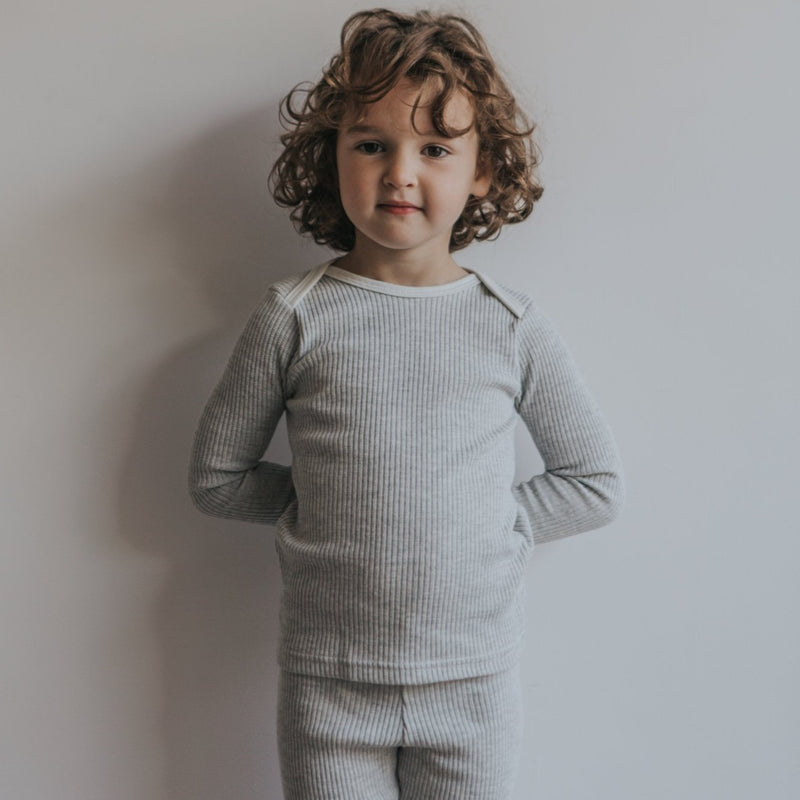 Pebble Rib Lounge Pyjama Set
