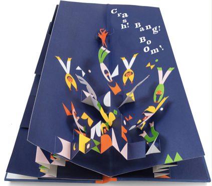 The Acrobat Family - A Magical Counting Pop-Up Book