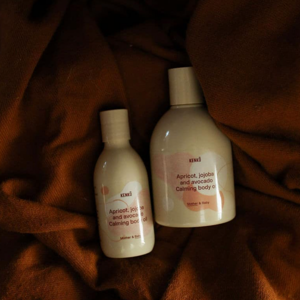Calming Body Oil Mother and Baby Set