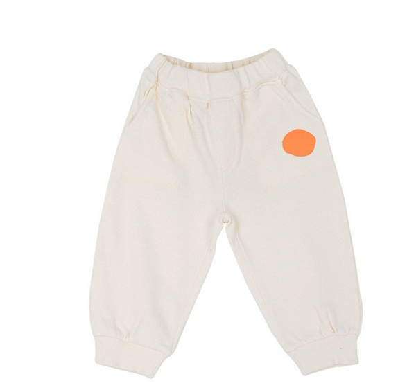 Momo Spot Tracksuit Bottoms (Cream)