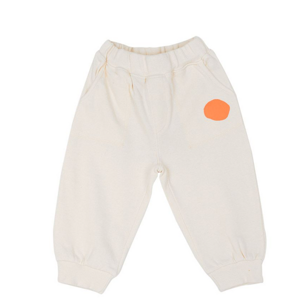 MAMA Spot Tracksuit Bottoms (Cream)