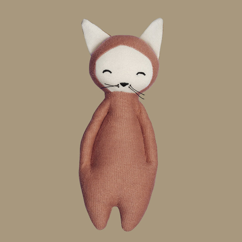 Soft Fox Rattle Toy