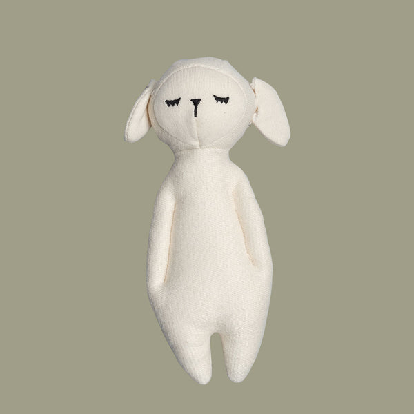 Soft Baa Sheep Rattle Toy