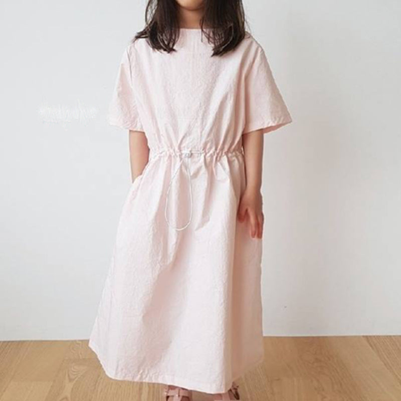 Nuovo Minimalist Simple Toggle Dress (Sky)