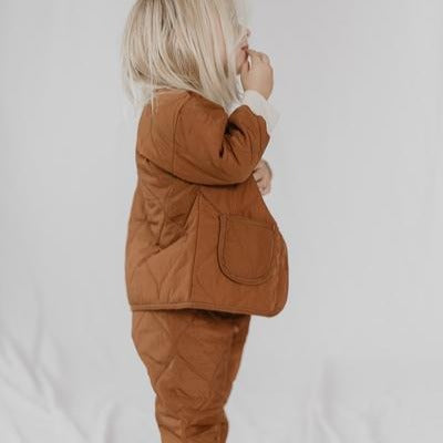 Lor Quilted Jacket and Bottoms Set