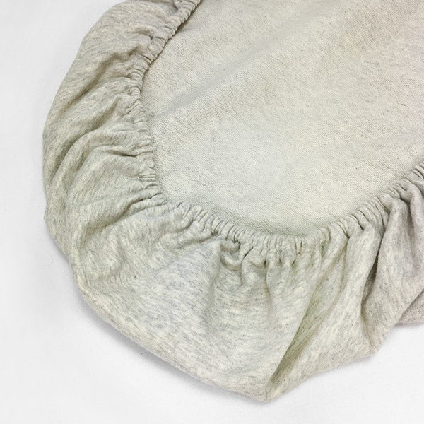 Moses Basket Mattress Fitted Sheet (Melange Jersey)