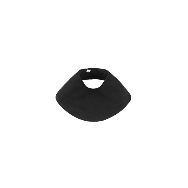 Organic Cotton Bib (Black)