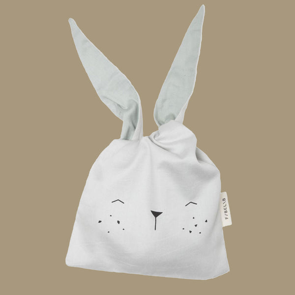 Ice Bunny Organic Cotton Snack or Lunch Bag