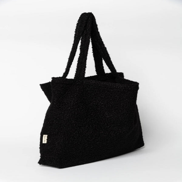 Studio Noos Oversize Mama Stroller Bag (Black Boucle)