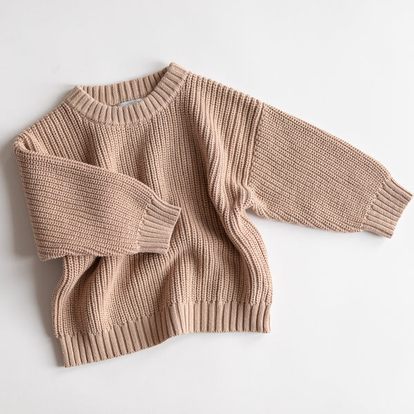 Lois Unisex Oversize Knit (Pink Earth)