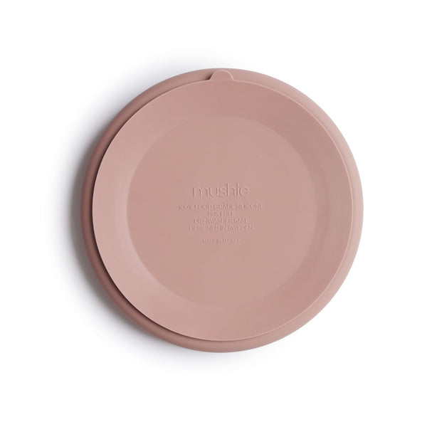 Silicone Suction Partition Plate (Blush)