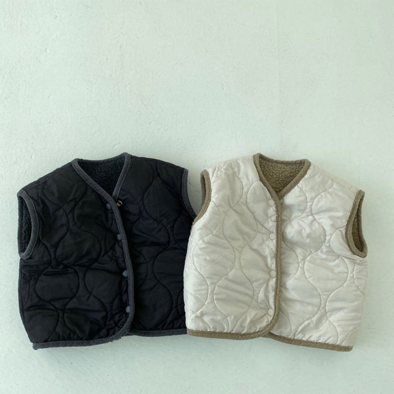 Cloud Reversible Vest (Charcoal)