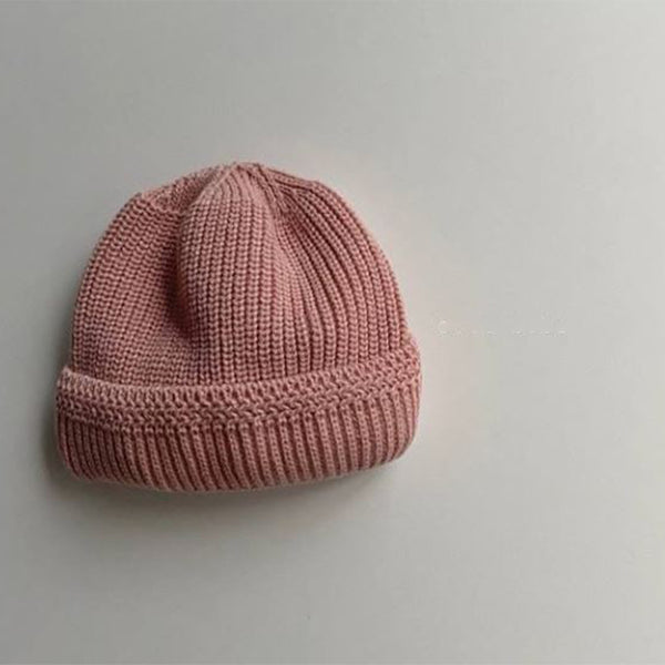 Bebe Fisherman Beanie (Blush)