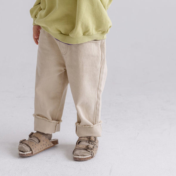 Nell Unisex Trousers (Oatmeal)