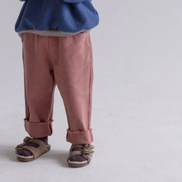 Nell Unisex Trousers (Clay)
