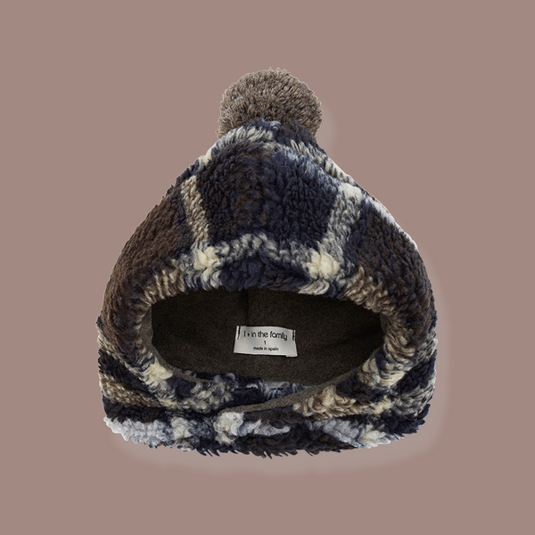 Cresta Wool Beanie (Midnight Blue)