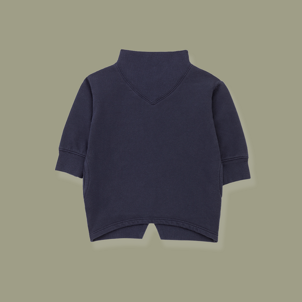 Baqueira Oversize Sweatshirt (Midnight Blue)