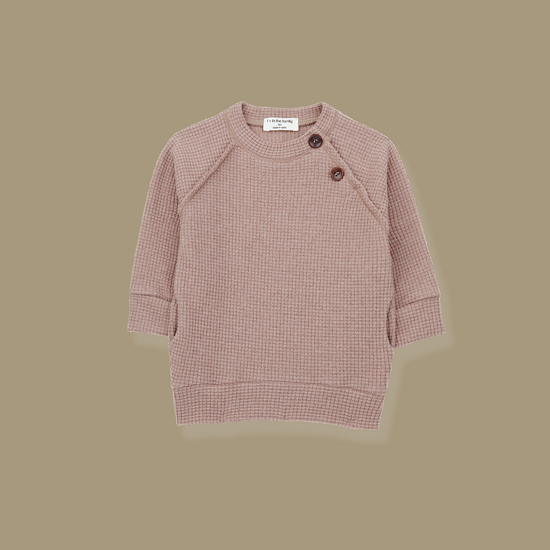 Cortina Long Line Sweatshirt (Beige)