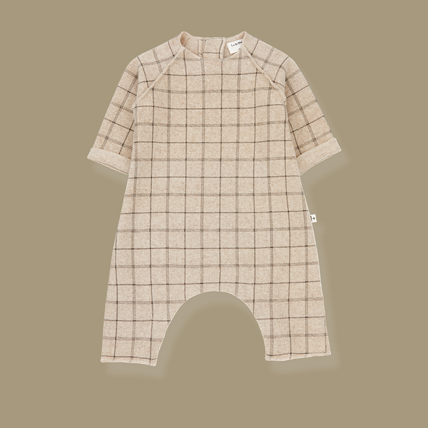 Laurent Check Jumpsuit