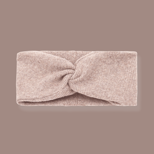 Ness Knotted Headband (Beige)