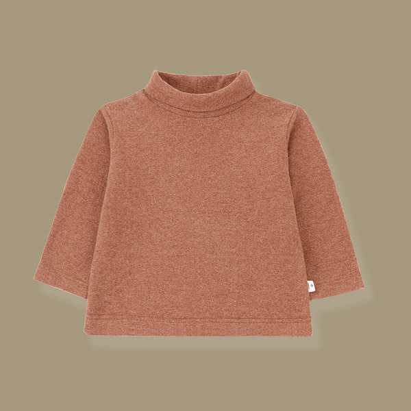 Bielsa Turtleneck Top (Toffee)