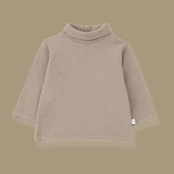 Bielsa Turtleneck Top (Beige)