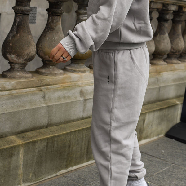 Woodie Logo Tracksuit Set (Mist Grey)