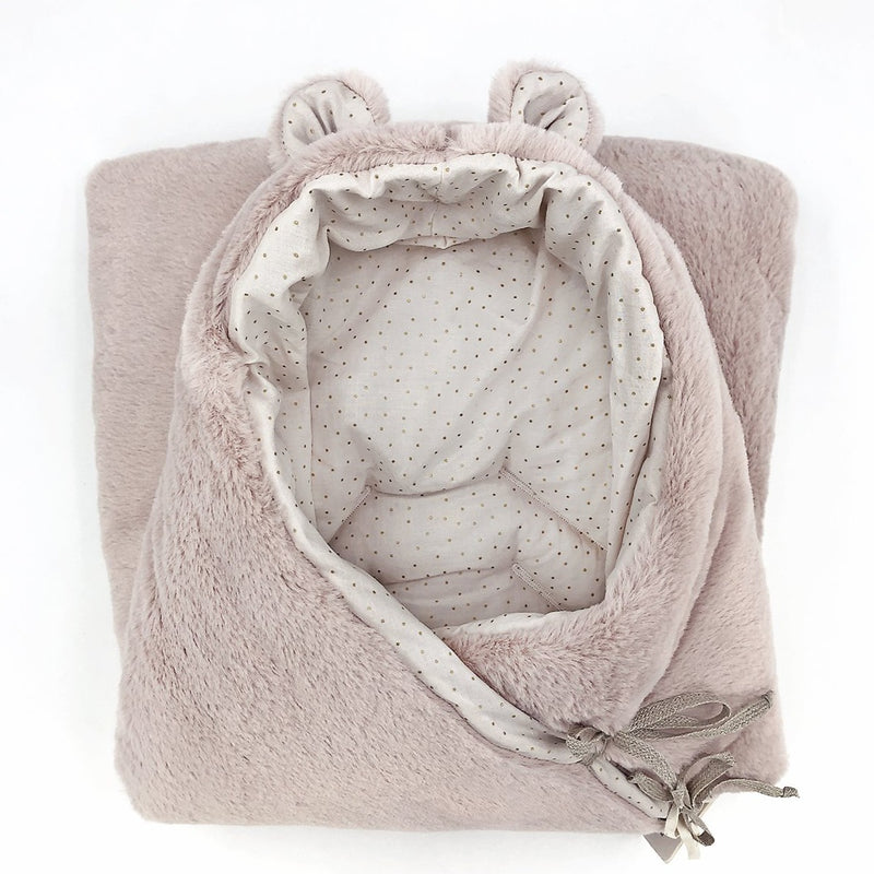 Blush Bear Nest with Harness Openings